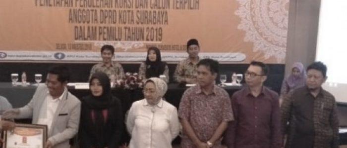 Rapat Pleno, KPU Surabaya Tetapkan 50 Anggota DPRD Terpilih