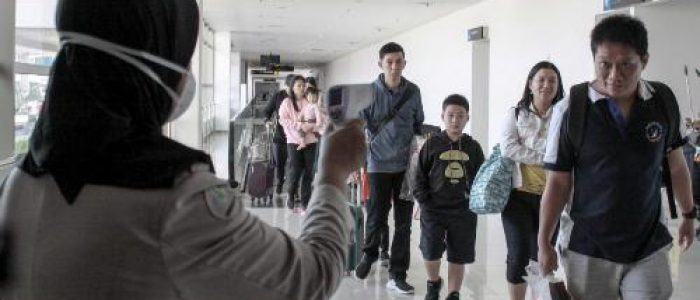 KKP Kelas I Surabaya Terjunkan Alat Deteksi Suhu Tubuh, Pantau Virus Corona